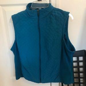 Blue Columbia Vest